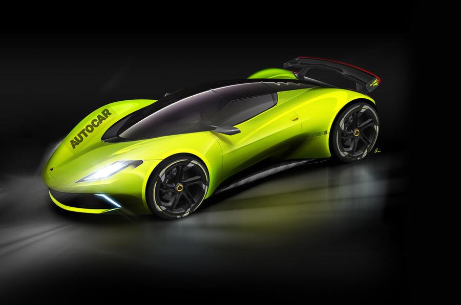 Lotus en roue libre : une hypercar électrique de 1000 ch à plus de deux millions d'euros en préparation