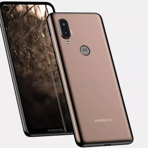 Écran percé : Motorola se lancerait à son tour avec son P40