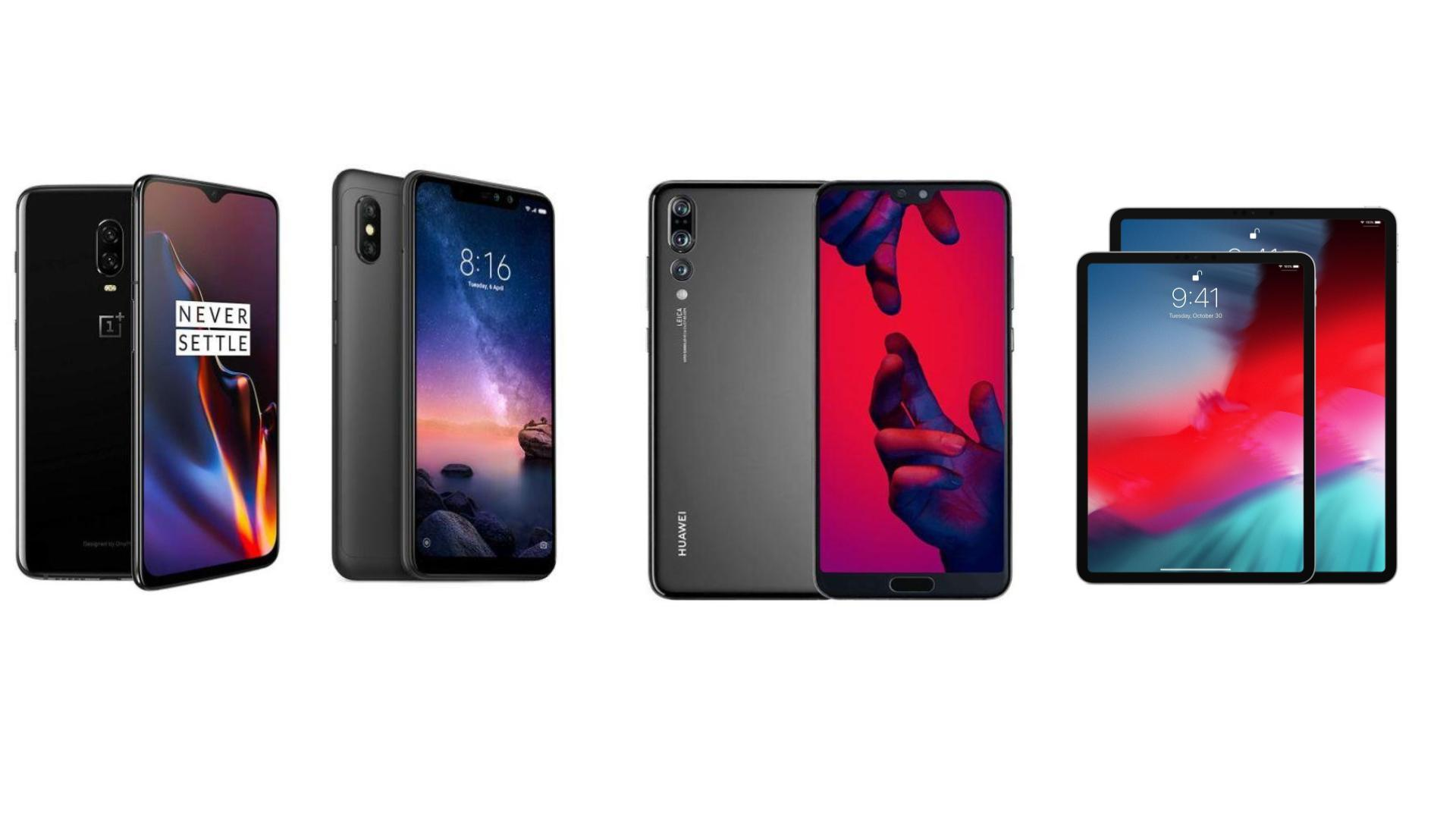 OnePlus 6T à 465 euros, Huawei P20 Pro à 579 euros ou Redmi Note 6 Pro à 149 euros : c'est la journée des bonnes affaires sur Rakuten !
