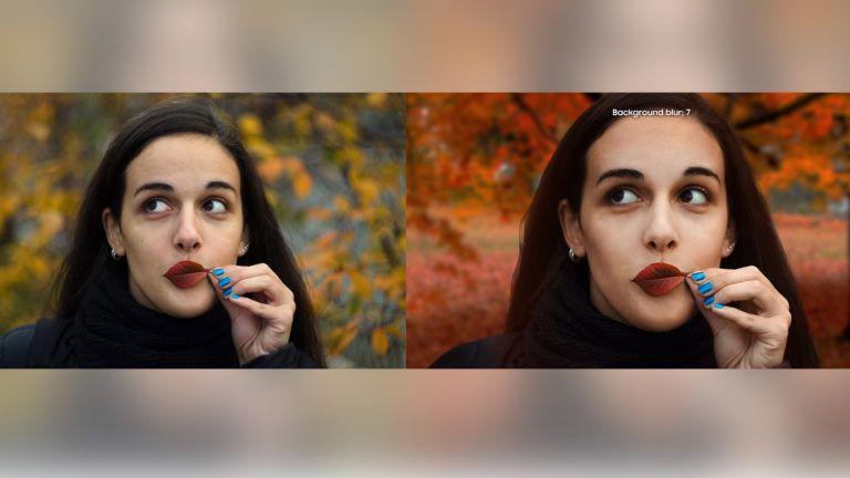 Samsung triche de nouveau : photo stock modifiée pour vanter les mérites d'un mode portrait