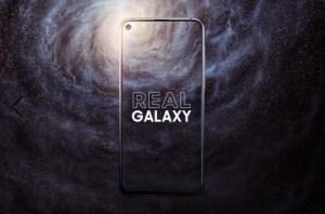 Samsung Galaxy A8s officialisé : voici le premier smartphone de la marque avec un écran percé