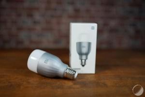 Test de la Xiaomi Mi LED Smart Bulb : enfin une ampoule connectée abordable et fonctionnelle