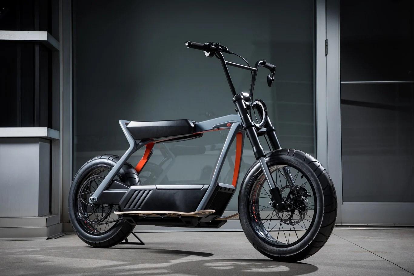 Voici les premiers concepts du vélo et du cyclomoteur électriques de Harley-Davidson