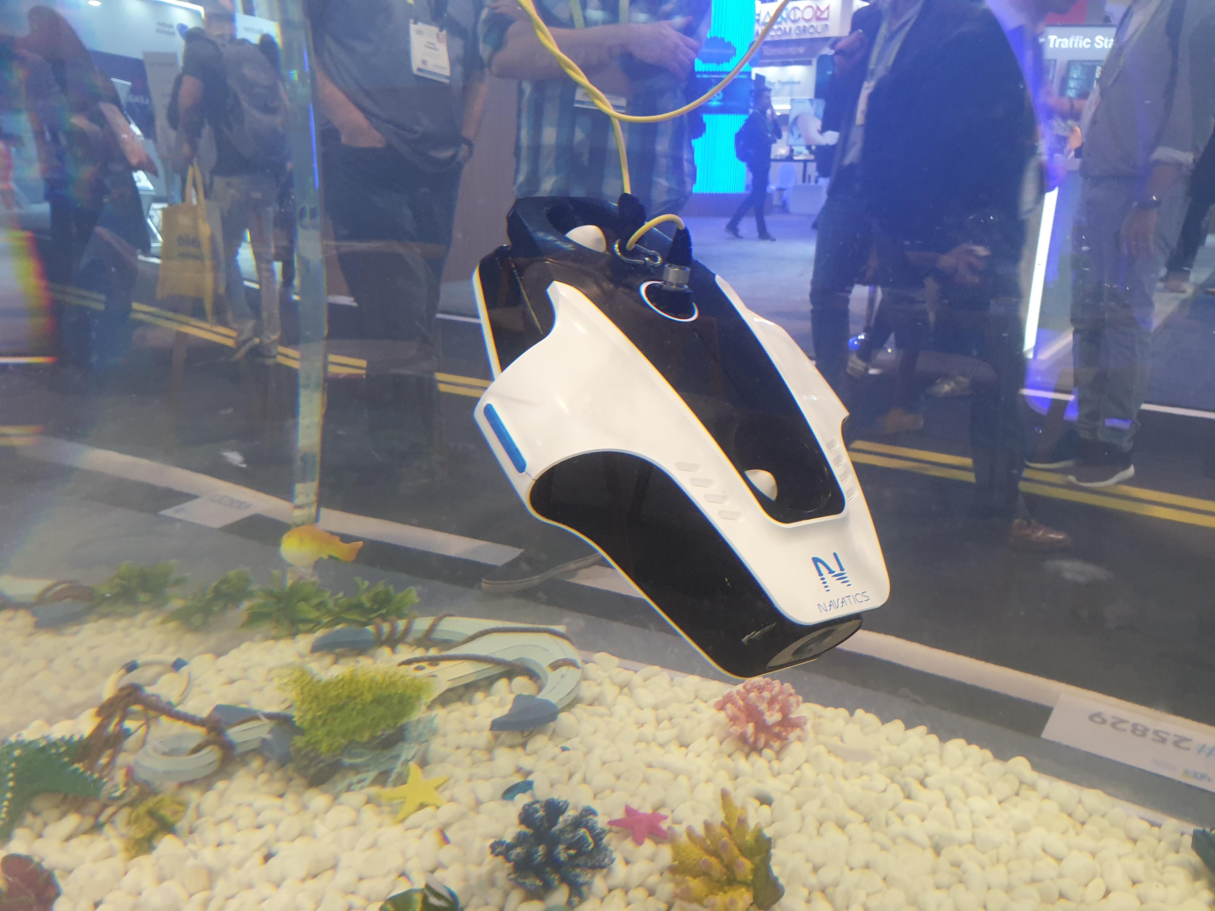 Vidéo 4K et excellente stabilisation : ce drone sous-marin est impressionnant