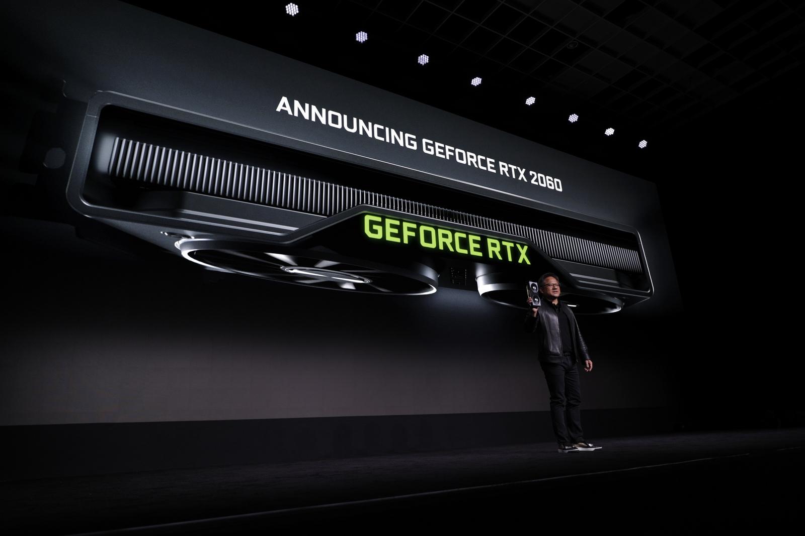 Nvidia GeForce RTX 2060 officialisée à 369 euros : caractéristiques et disponibilité