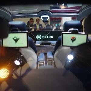 Embarquez dans le SUV électrique Byton M-Byte :ce n'est pas de la SFmais ça y ressemble