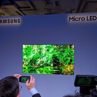 Samsung annonce du Micro LED 4K au format 75 pouces : l'OLED est en danger au CES 2019