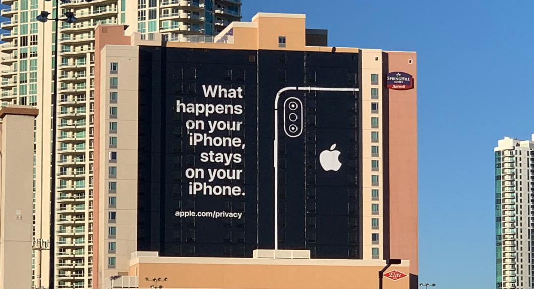 Absent du CES, Apple se paye Google sur ses pratiques liées à la récolte de données