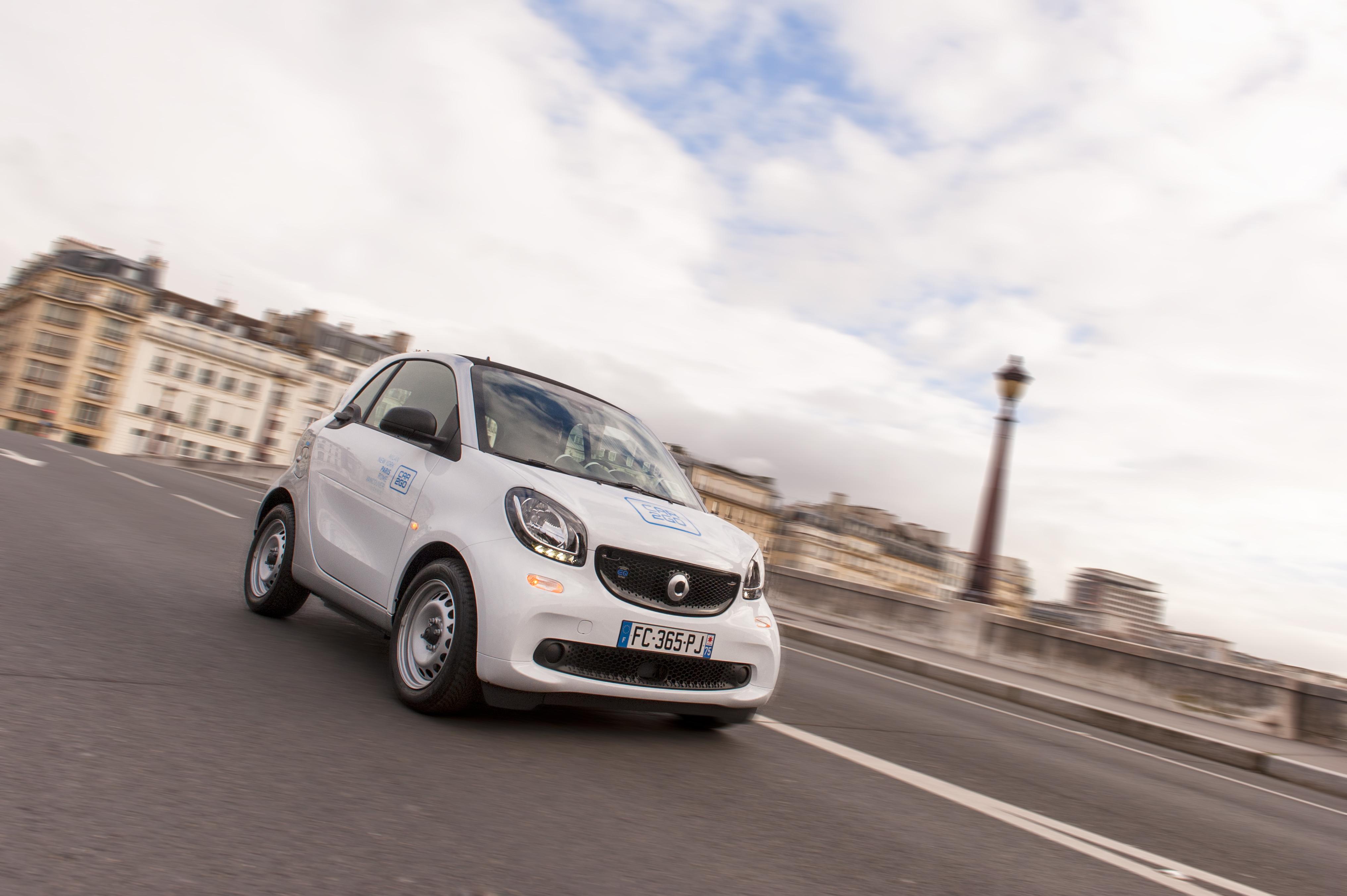Car2Go remplace efficacement les Autolib à Paris avec des Smart électriques