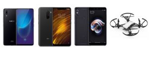 Vivo Nex à 482 euros, Xiaomi Mi 8 Pro à 428 euros ou Pocophone F1 (128 Go) à 295 euros sur GearBest