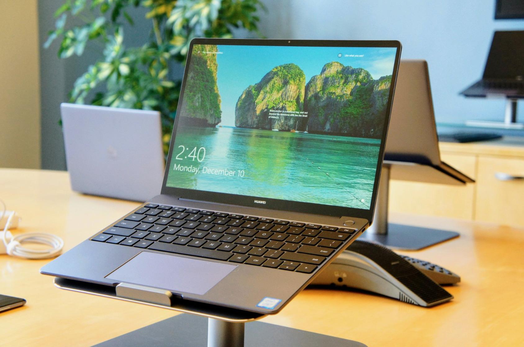 Huawei Matebook 13 : un « vrai air » de MacBook Air (le prix en moins) présenté au CES 2019