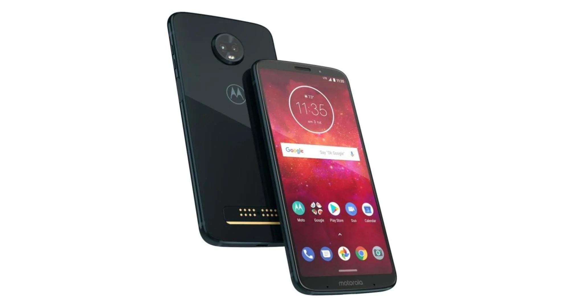 🔥 Bon plan : le Motorola Moto Z3 Play (+ Moto Mods batterie) est à 299 euros sur Cdiscount