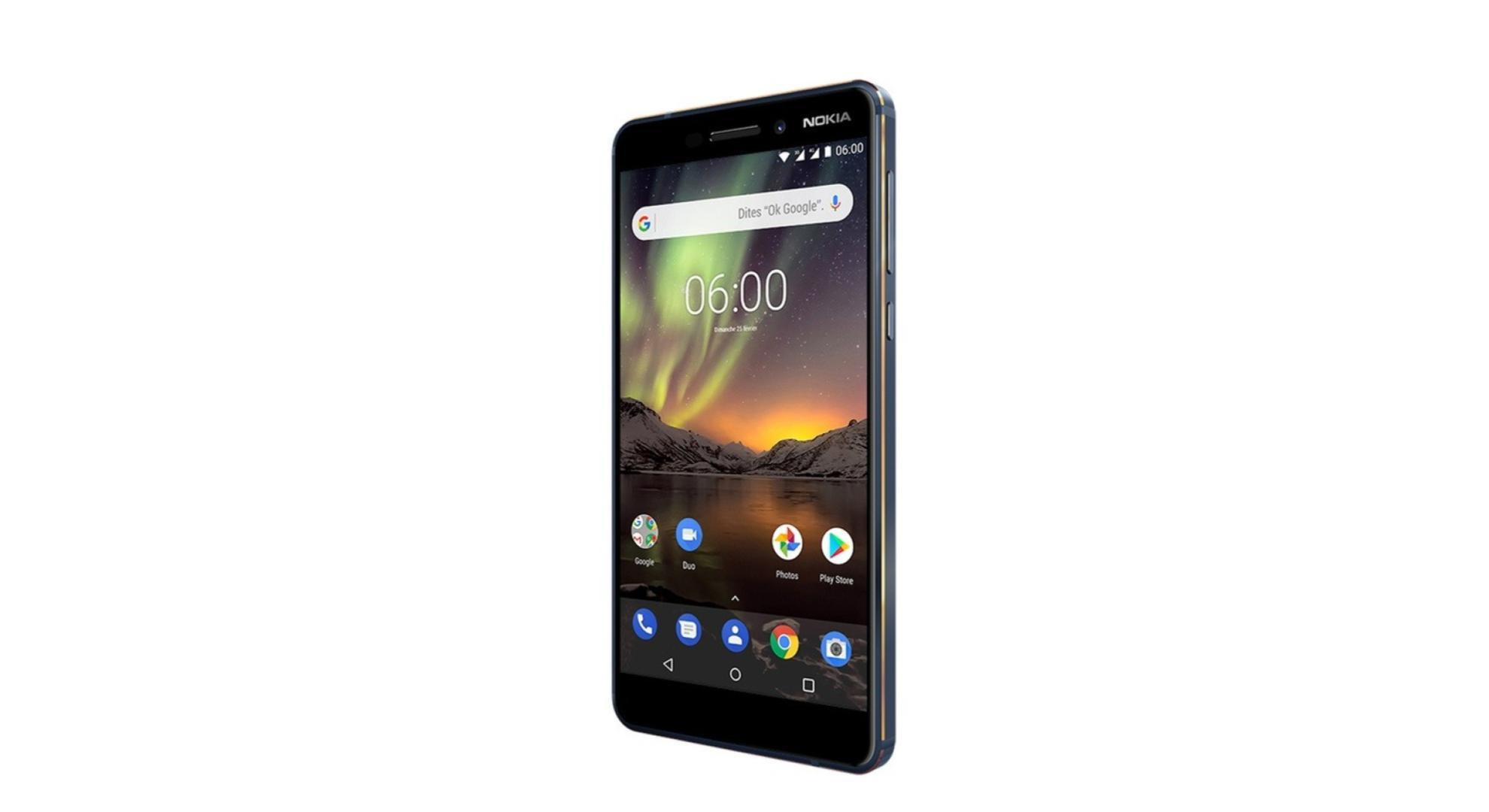 🔥 Bon plan : le Nokia 6 (2018) descend à 159 euros chez Darty