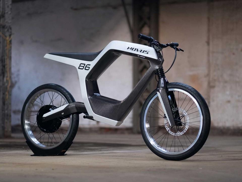 Avec la moto électrique Novus, votre smartphone se transforme en clé numérique