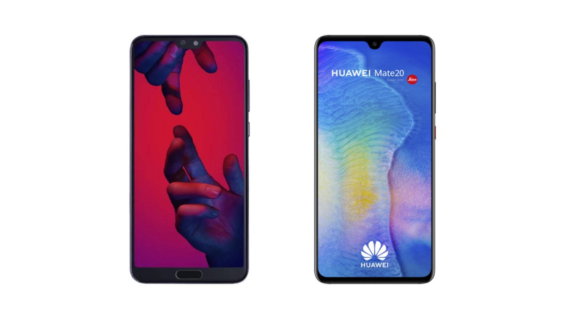 🔥 Soldes 2019 : le Huawei P20 Pro à 499 euros et le Mate 20 à 549 euros sur Rue du Commerce