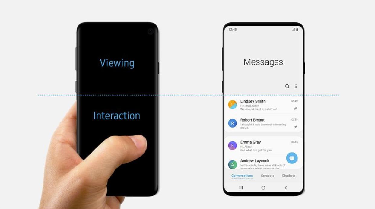 Samsung pourrait avoir confirmé par erreur le design du Galaxy S10