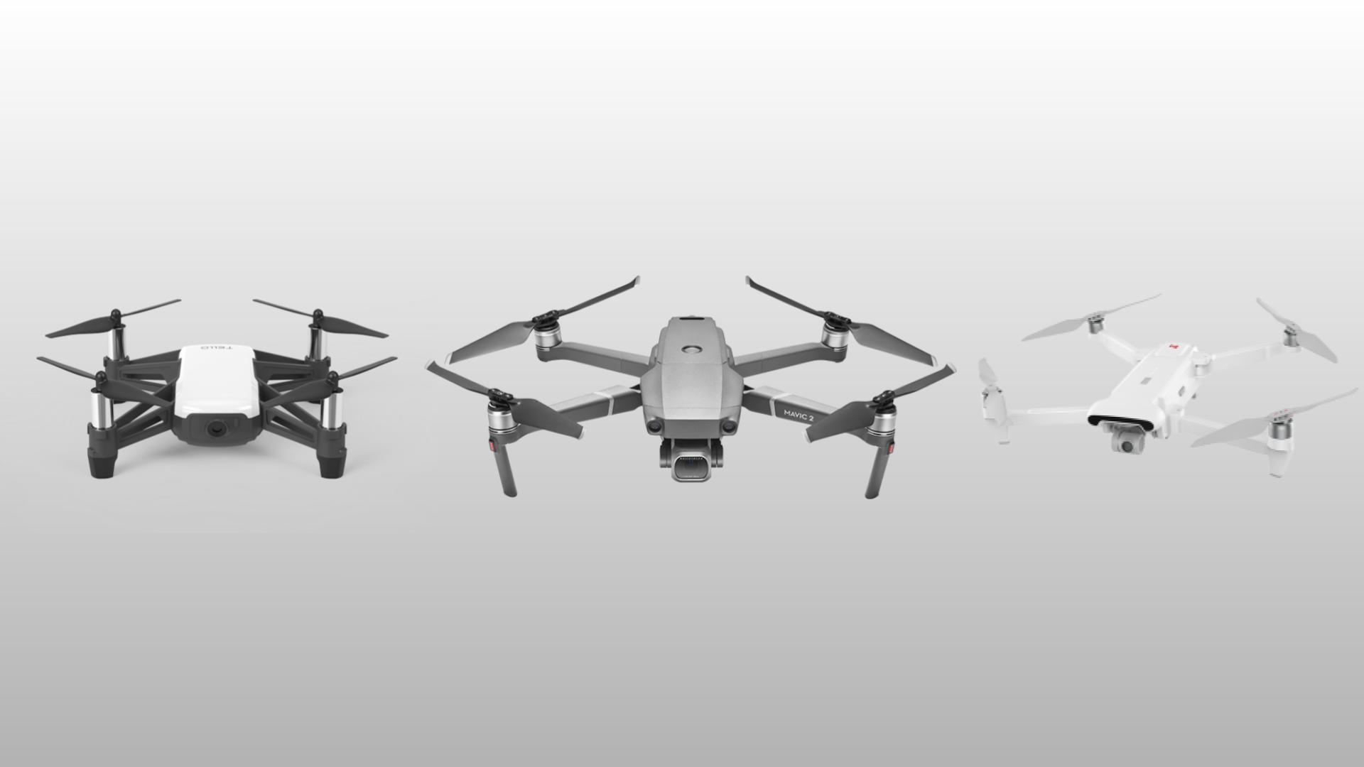 Des drones DJI Ryze, DJI Mavic et Xiaomi à partir de 71 euros sur GearBest