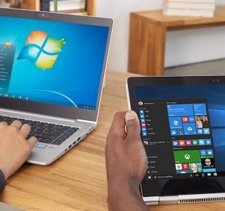 Windows 7 : Microsoft ajoute une publicité plein écran pour Windows 10