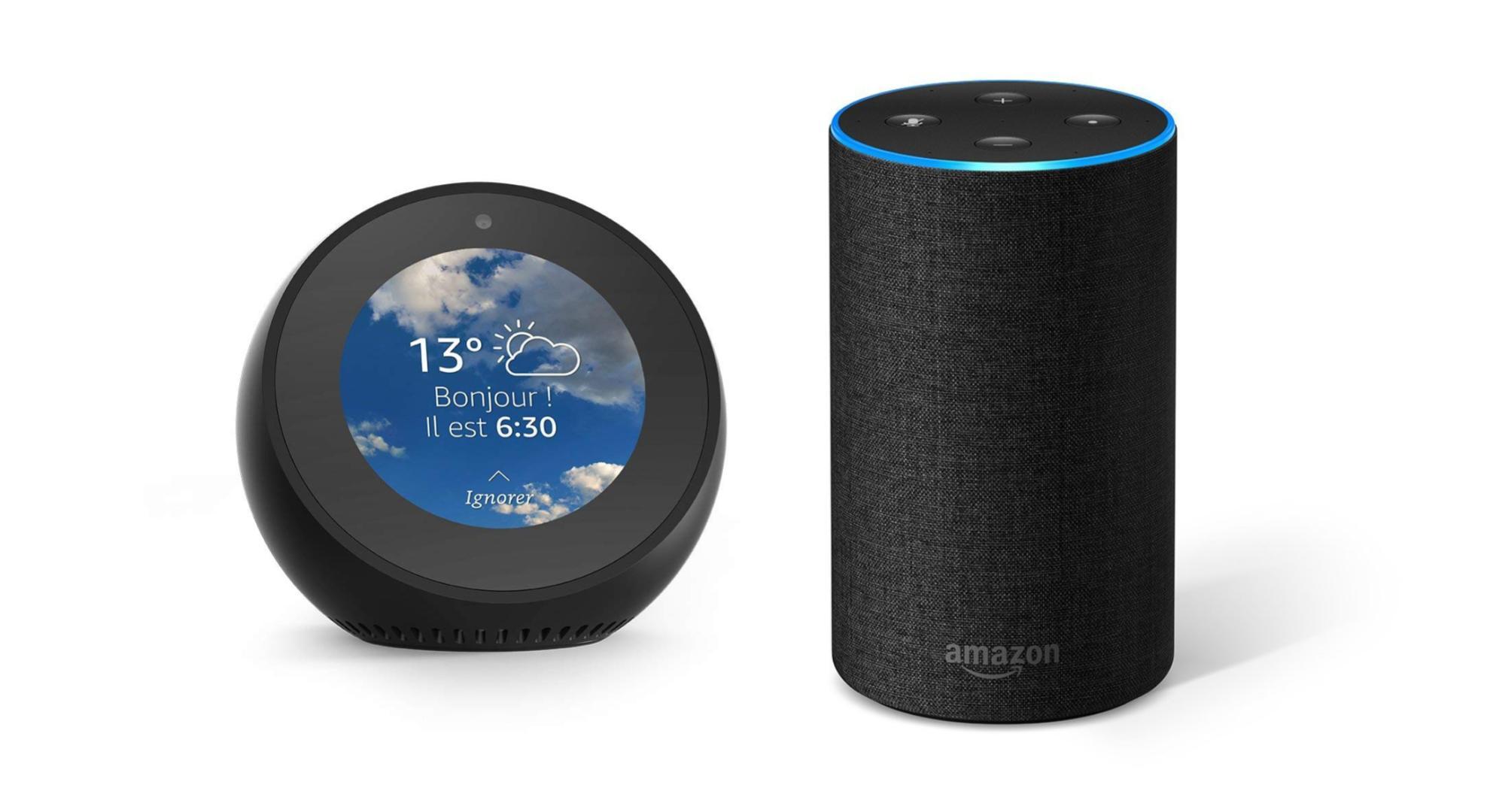 🔥 Bon plan : l'Amazon Echo passe à 79 euros et l'Echo Spot à 109 euros