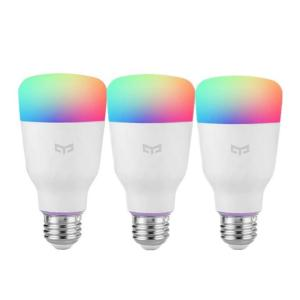 🔥 Bon plan : 3 ampoules connectées Yeelight RGB (E27) pour 56 euros sur Rakuten