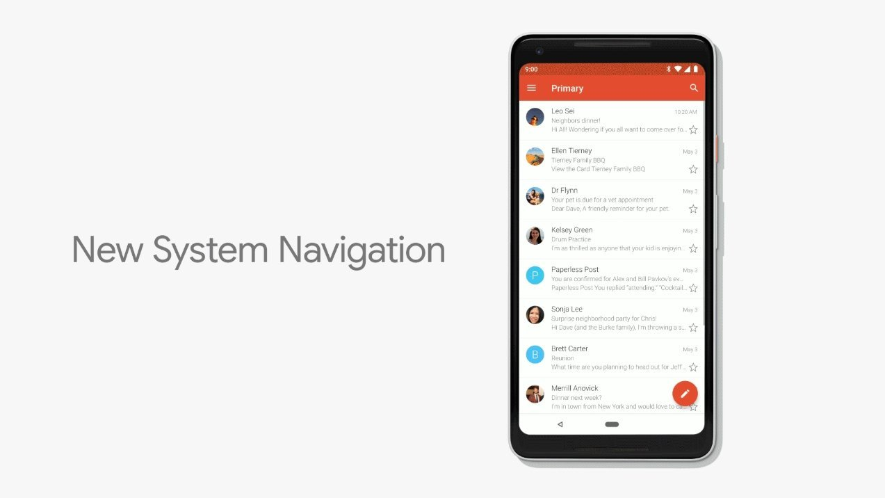 Android Q : Google supprimerait enfin le bouton précédent