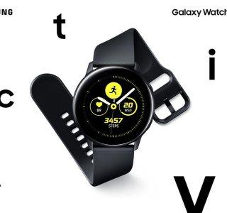 Samsung Galaxy Watch Active officialisé : la montre intelligente dédiée aux sportifs
