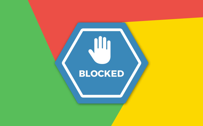 Google Chrome : « notre objectif n'a jamais été de casser le blocage de contenu »