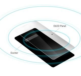 LG G8 ThinQ : son écran est un grand haut-parleur