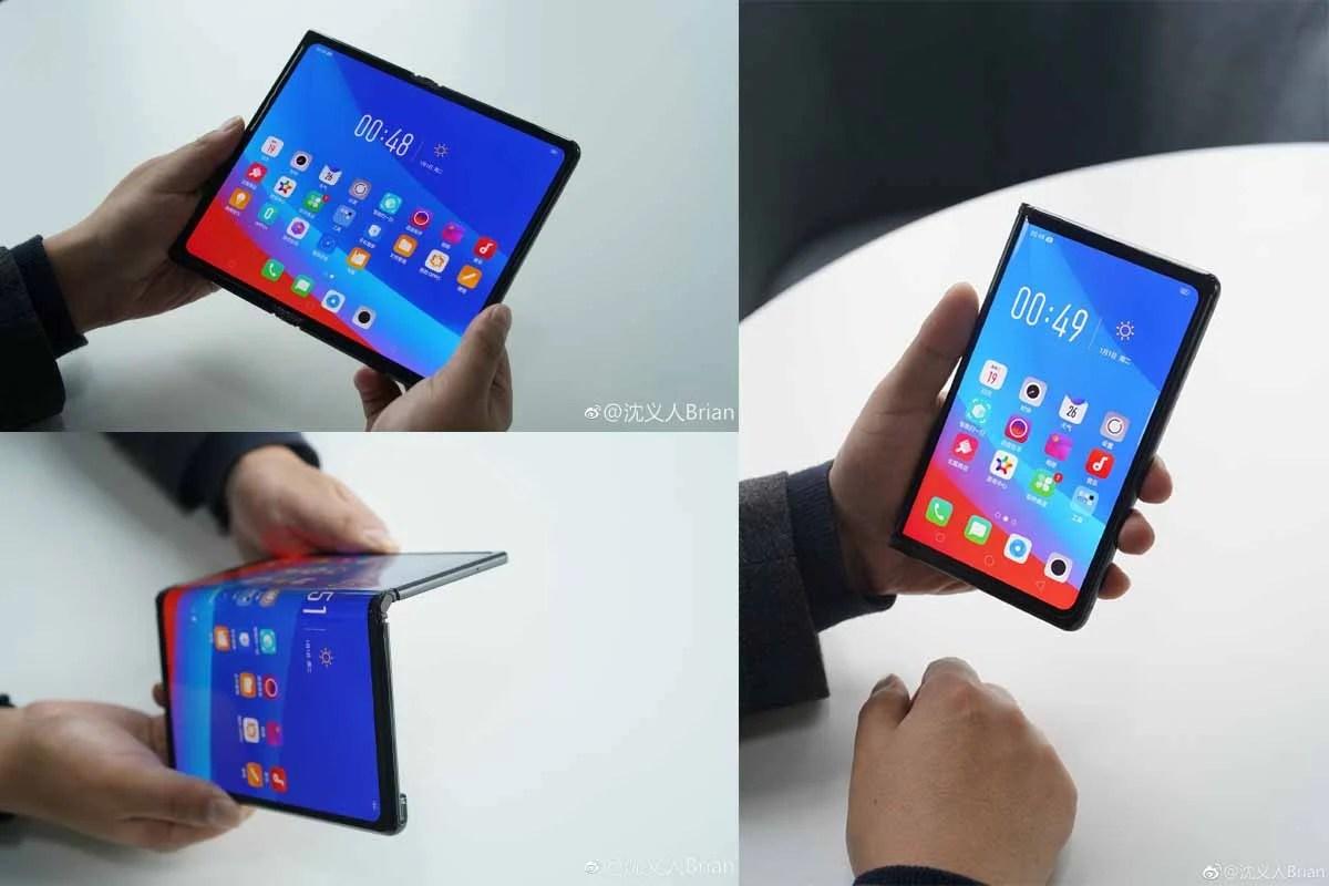 Pour Oppo, les smartphones pliables sont l'avenir