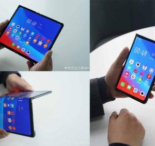Pour Oppo, les smartphones pliables sont encore à définir