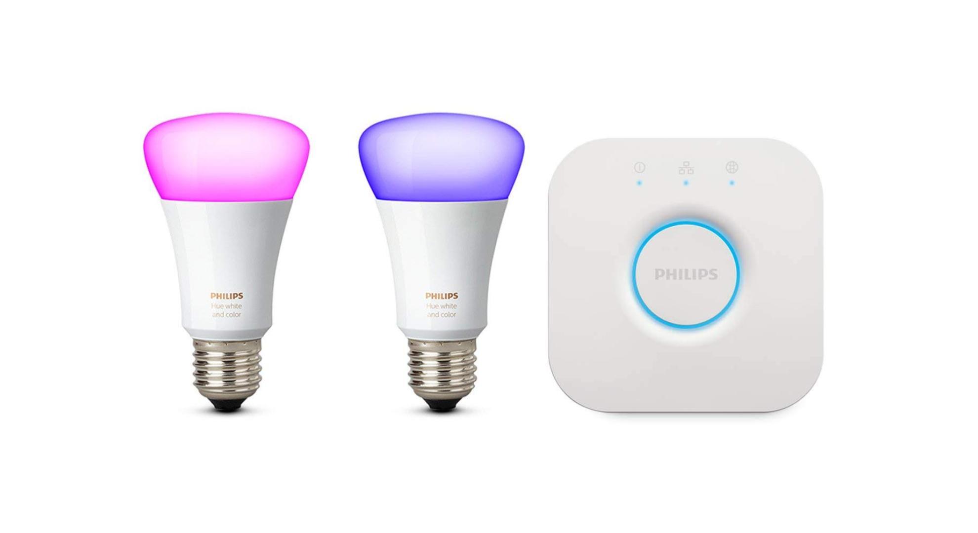 🔥 Bon plan : des lots d'ampoules Philips Hue White and Color à partir de 79 euros