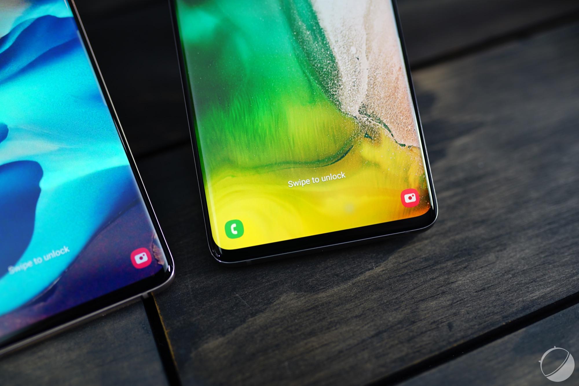 Samsung Galaxy S10 : un lecteur d'empreintes bien résistant, mais gare aux fissures d'écran