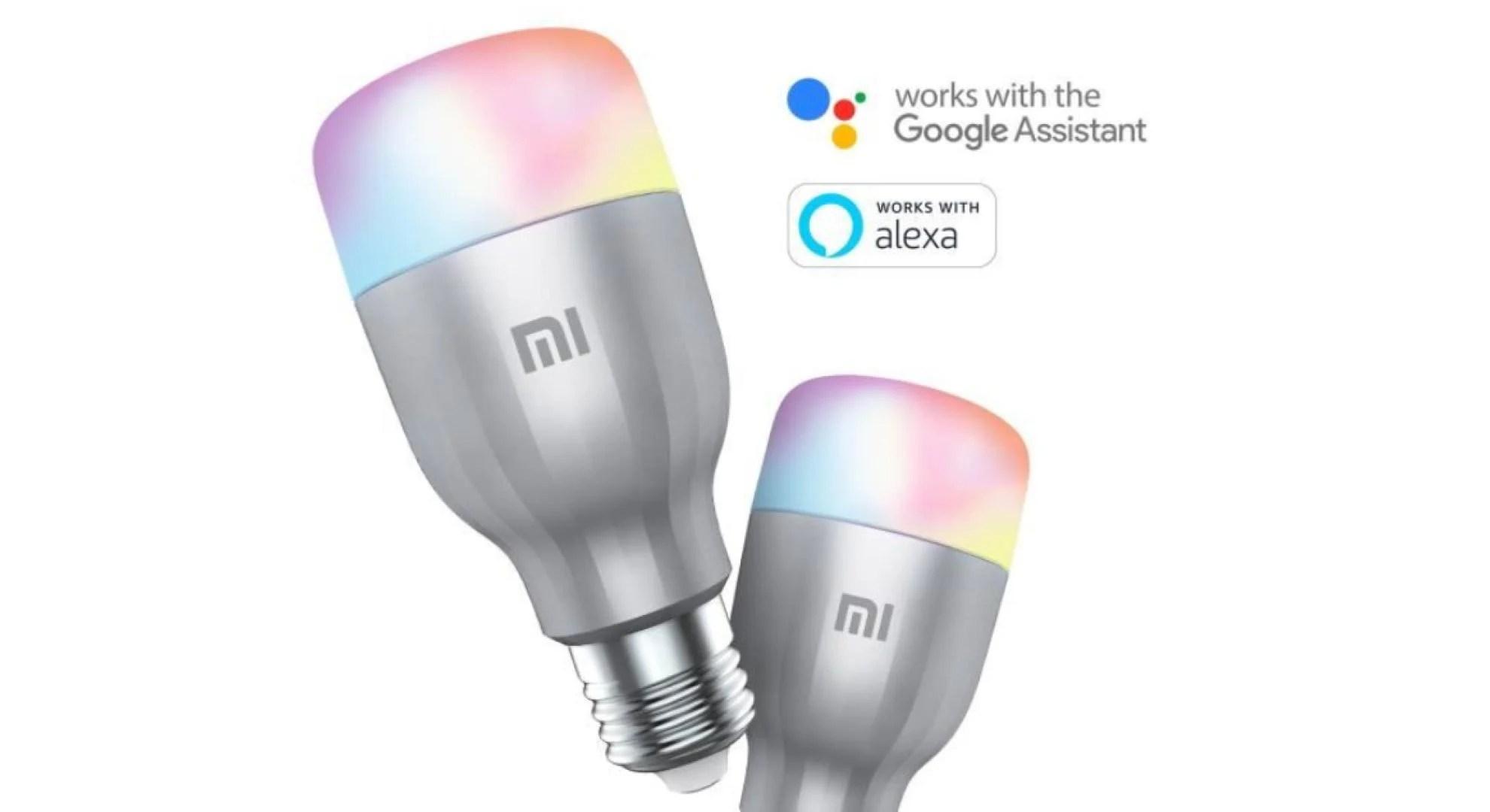 🔥 Bon plan : le lot de deux ampoules connectées Xiaomi est à 29 euros