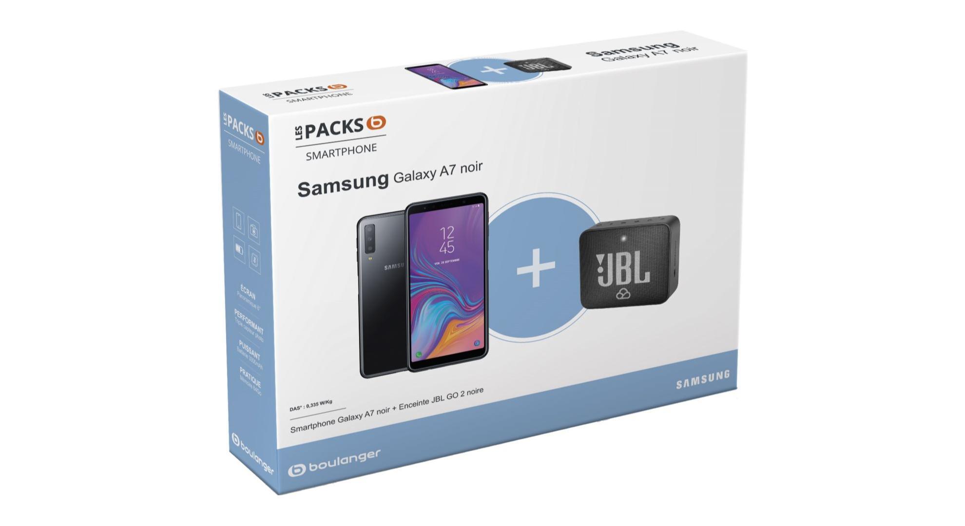 🔥 Bon plan : 279 euros pour un Samsung Galaxy A7 et une enceinte JBL Go 2