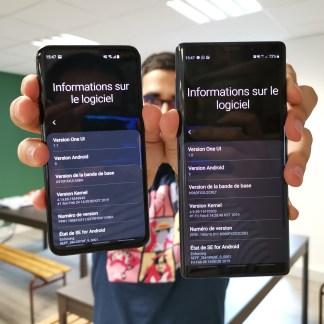 One UI sur Galaxy S10 vs One UI sur Galaxy Note 9 : quelques différences à connaître