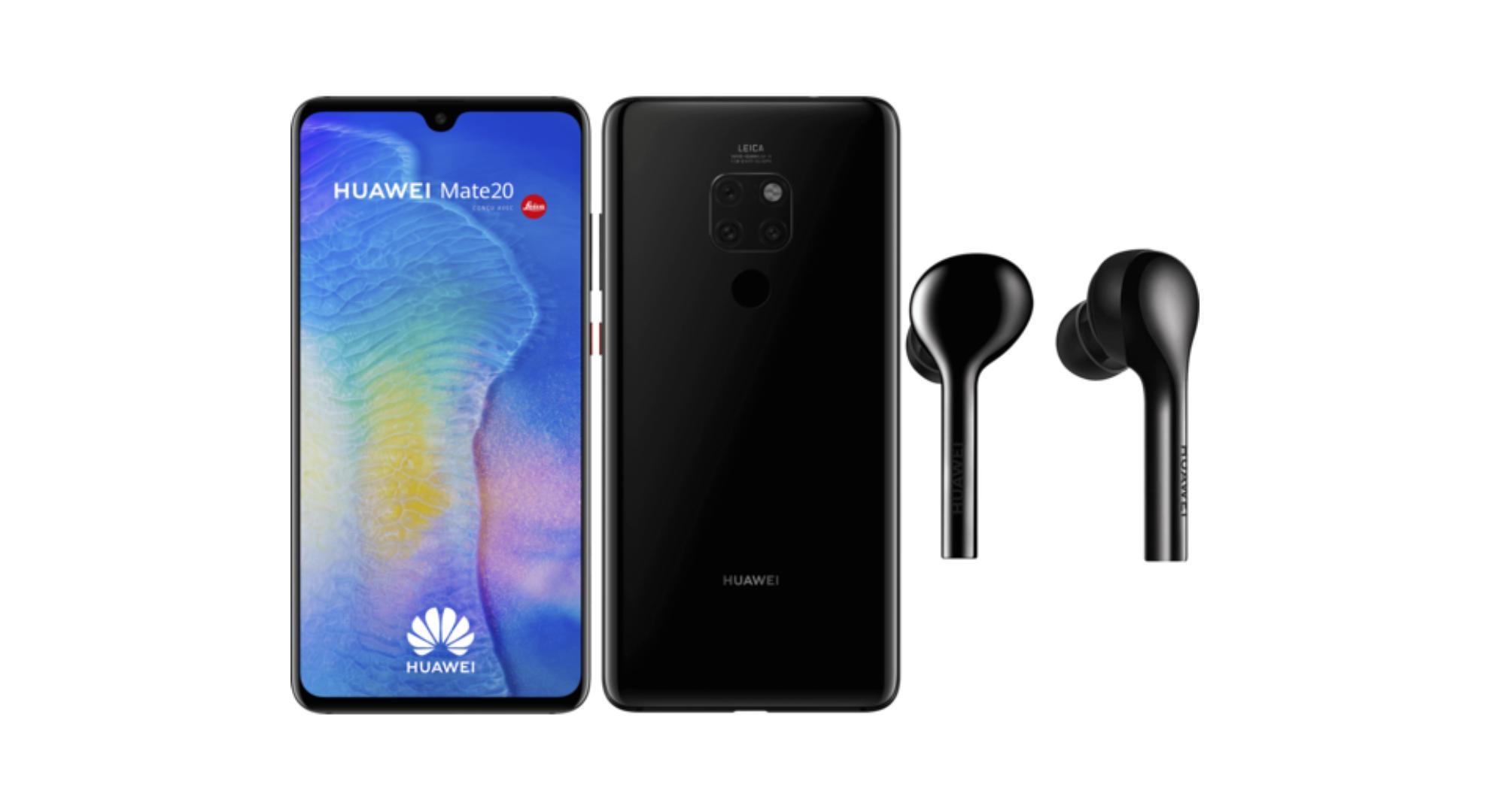 🔥 Bon plan : un pack Huawei Mate 20 + écouteurs Freebuds à 499 euros (sans ODR)