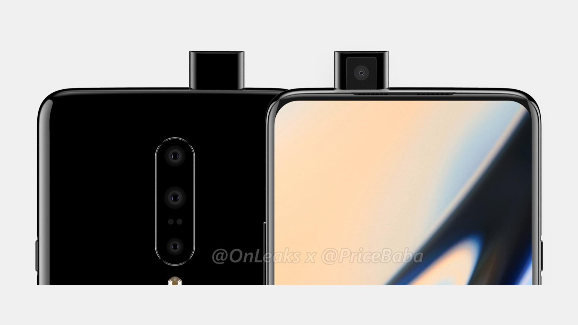 OnePlus 7 Pro : le triple capteur photo est confirmé par la marque