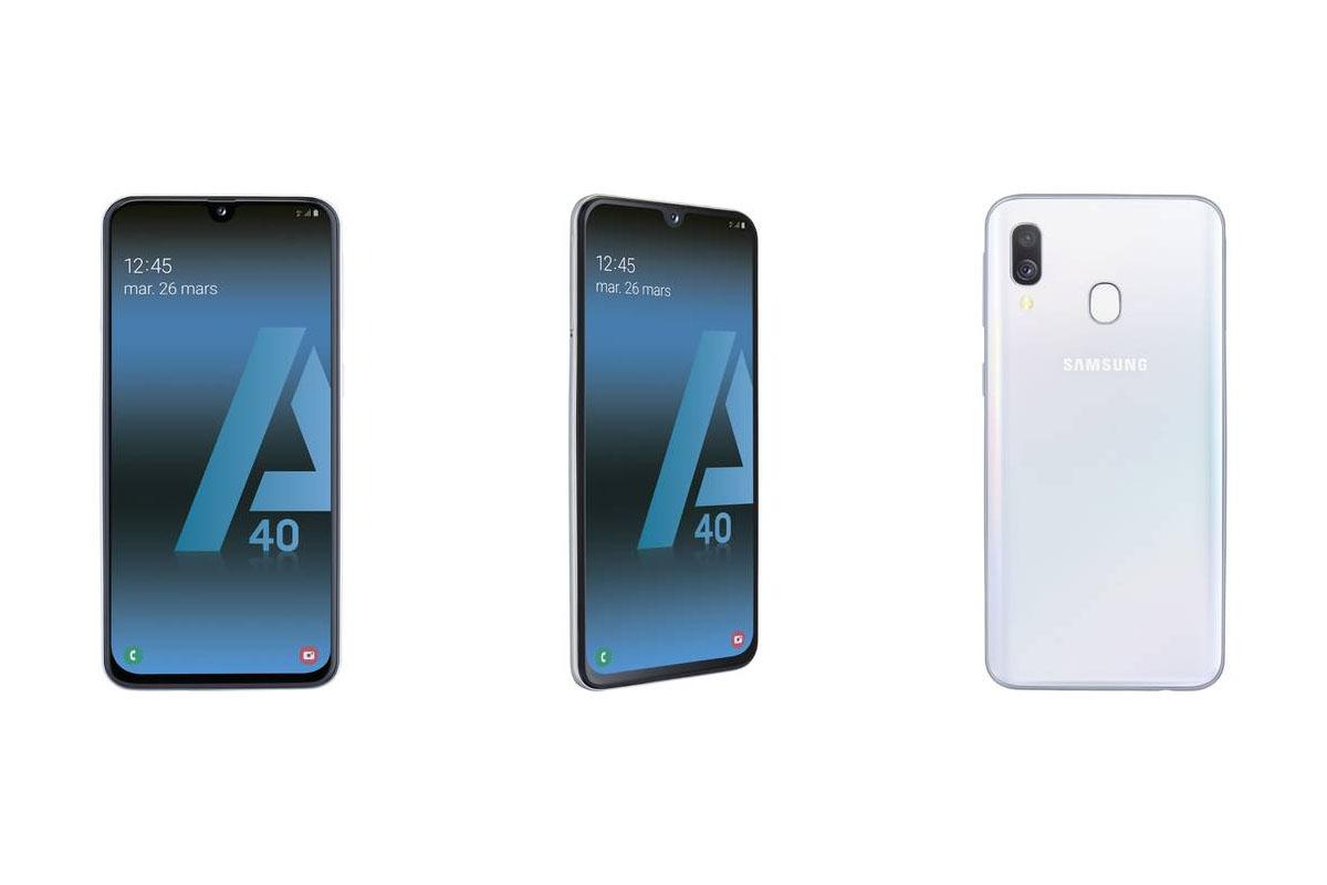 Le Samsung Galaxy A40 est disponible en France à moins de 300 euros