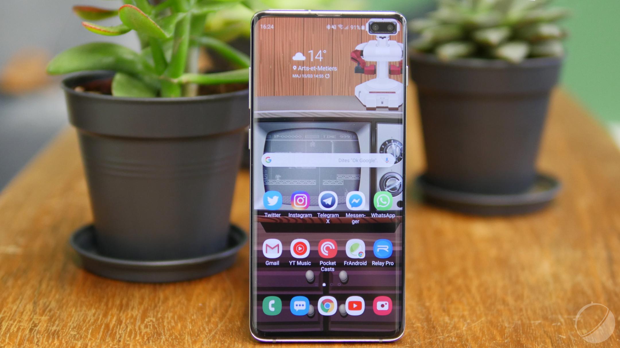 Samsung Galaxy S10 : une mise à jour corrige le lecteur d'empreintes