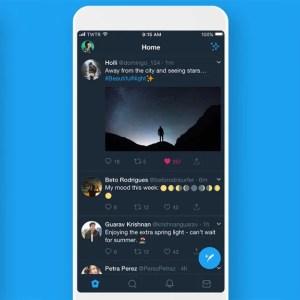 Thème sombre : l'application Twitter s'adapte aux écrans AMOLED