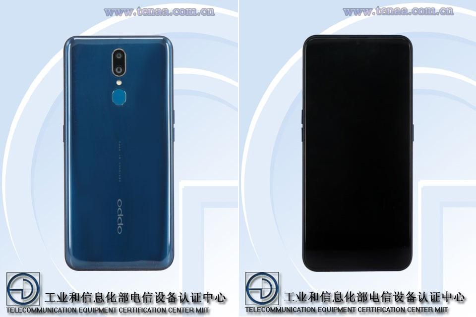 Reno Lite : le smartphone d'entrée de gamme et grand format d'Oppo fiché par la TENAA