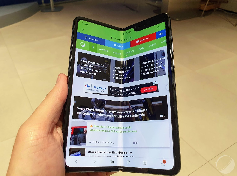 Samsung préparerait bien deux autres smartphones pliables