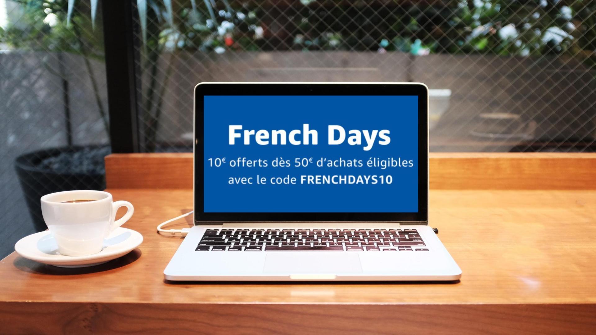 🔥 French Days : 10 euros offerts sur Amazon avec ce code promo (à partir de 50 euros d'achat)