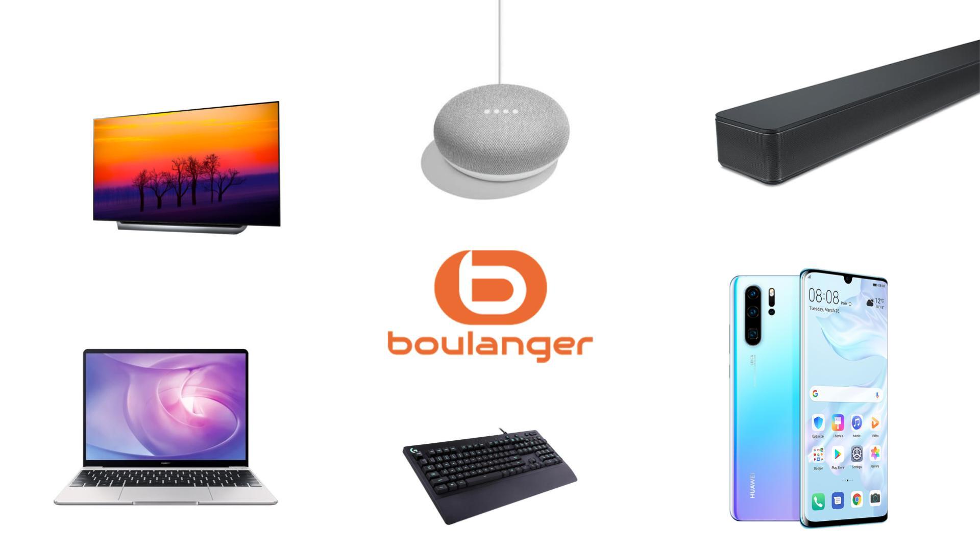 Voici les meilleures offres tech de Boulanger pour les French Days 2019