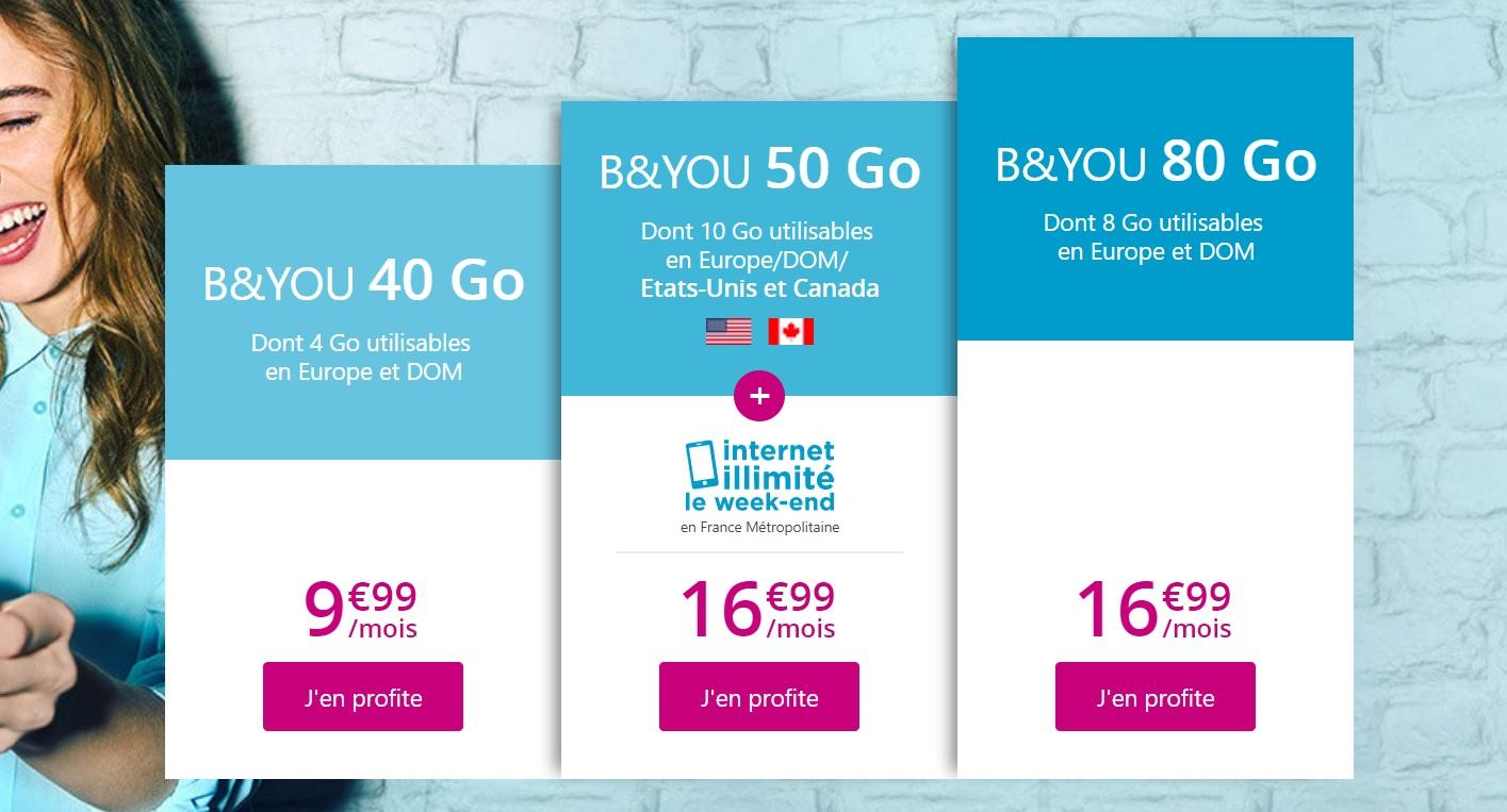 🔥 Forfait mobile : Bouygues prolonge ses offres en série limitée à partir de 9,99 euros par mois