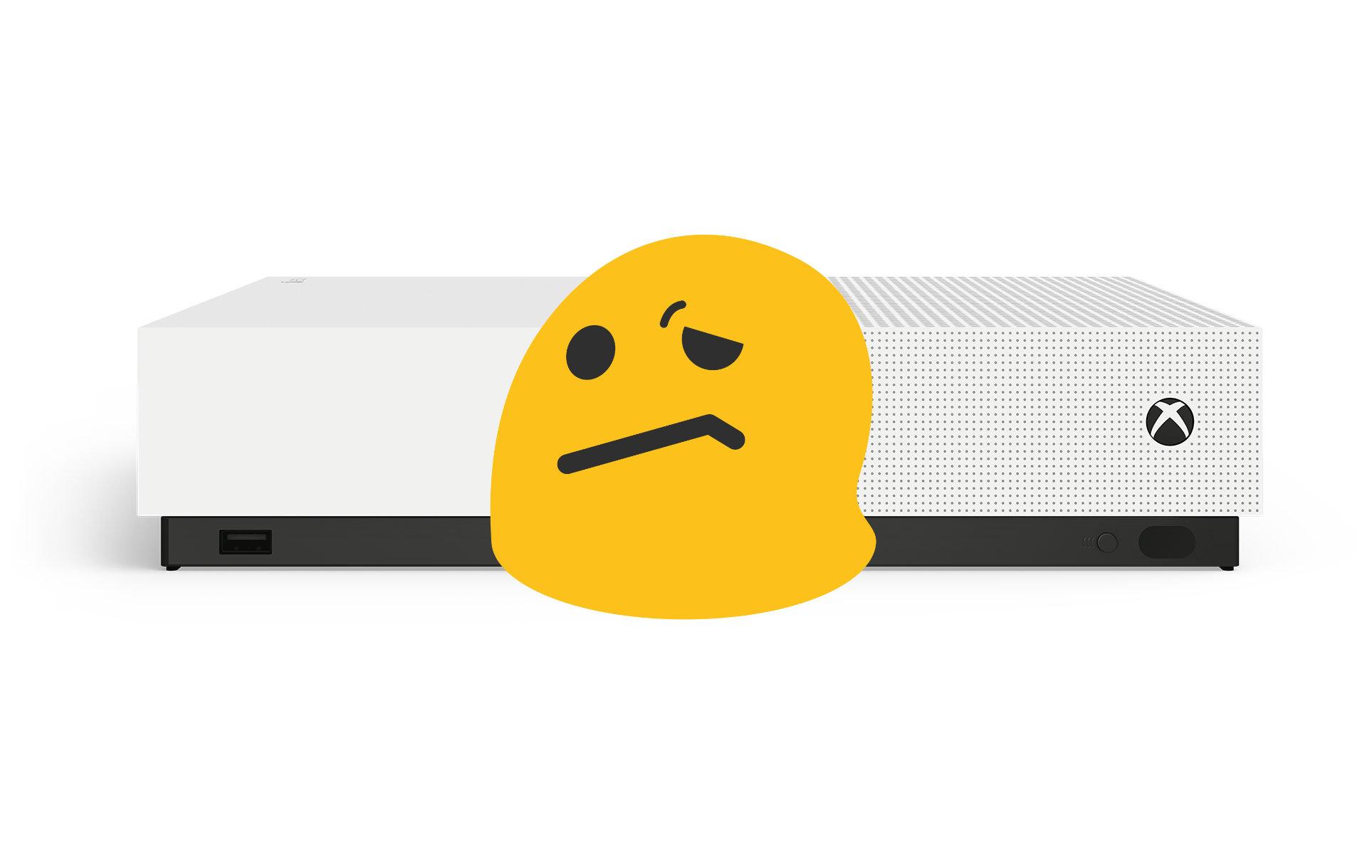 Ce qui cloche avec la Xbox One S All Digital Edition