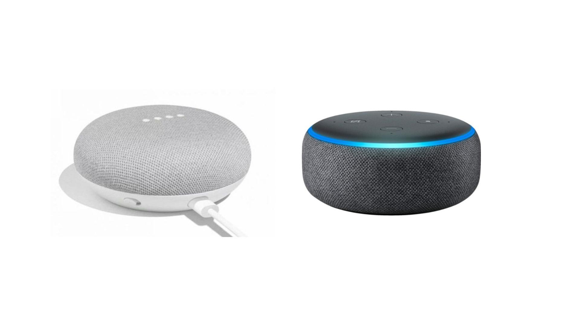 Promos sur les enceintes connectées : le Google Home Mini et l'Amazon Echo Dot sont à moins de 30 euros