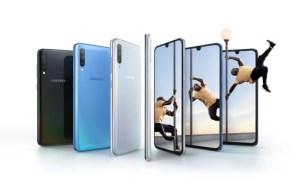 Samsung Galaxy A70 officialisé : grand écran 6,7 pouces et grosse batterie 4 500 mAh