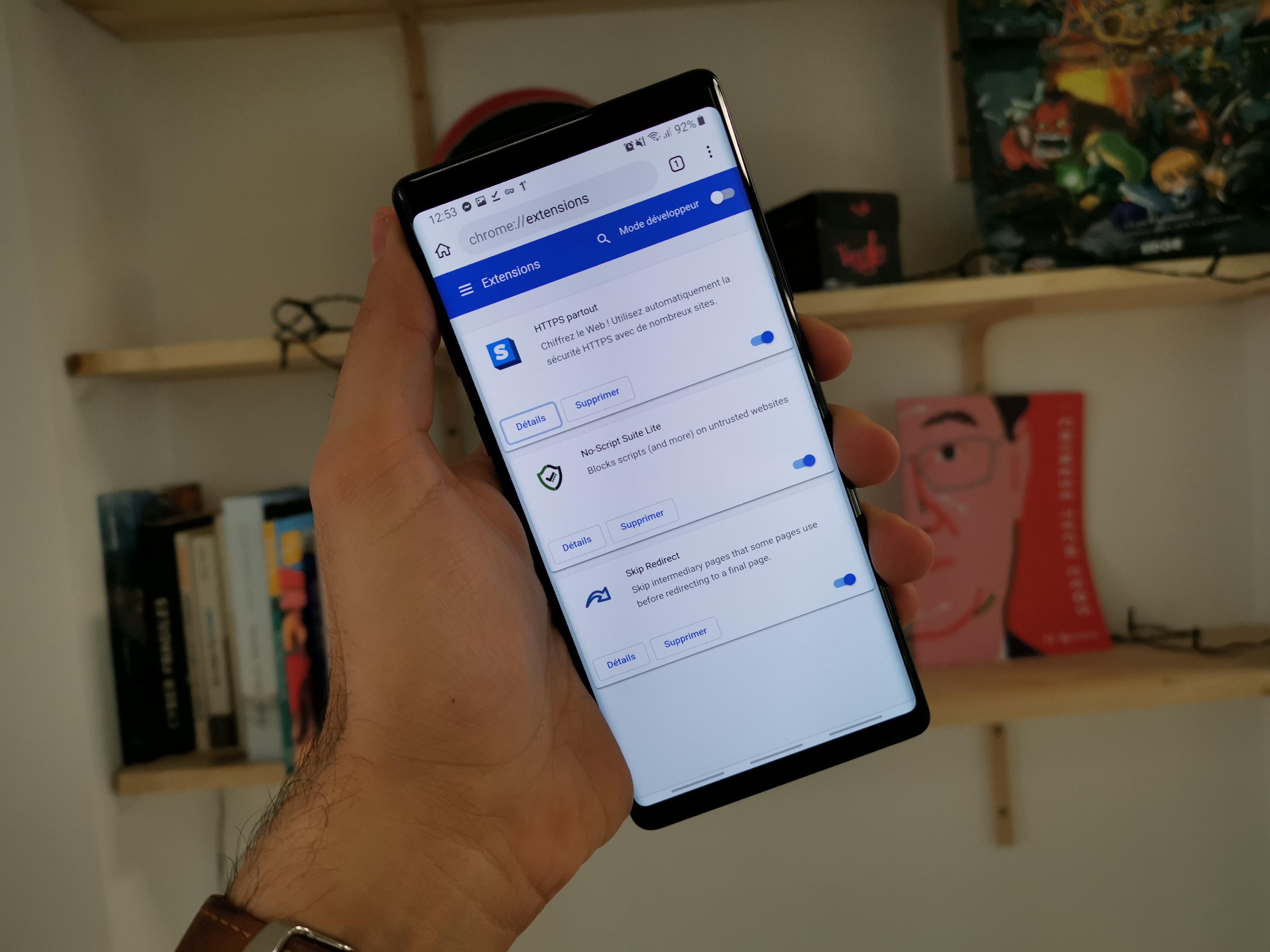 Kiwi grille la priorité à Google : les extensions Chrome débarquent sur mobile