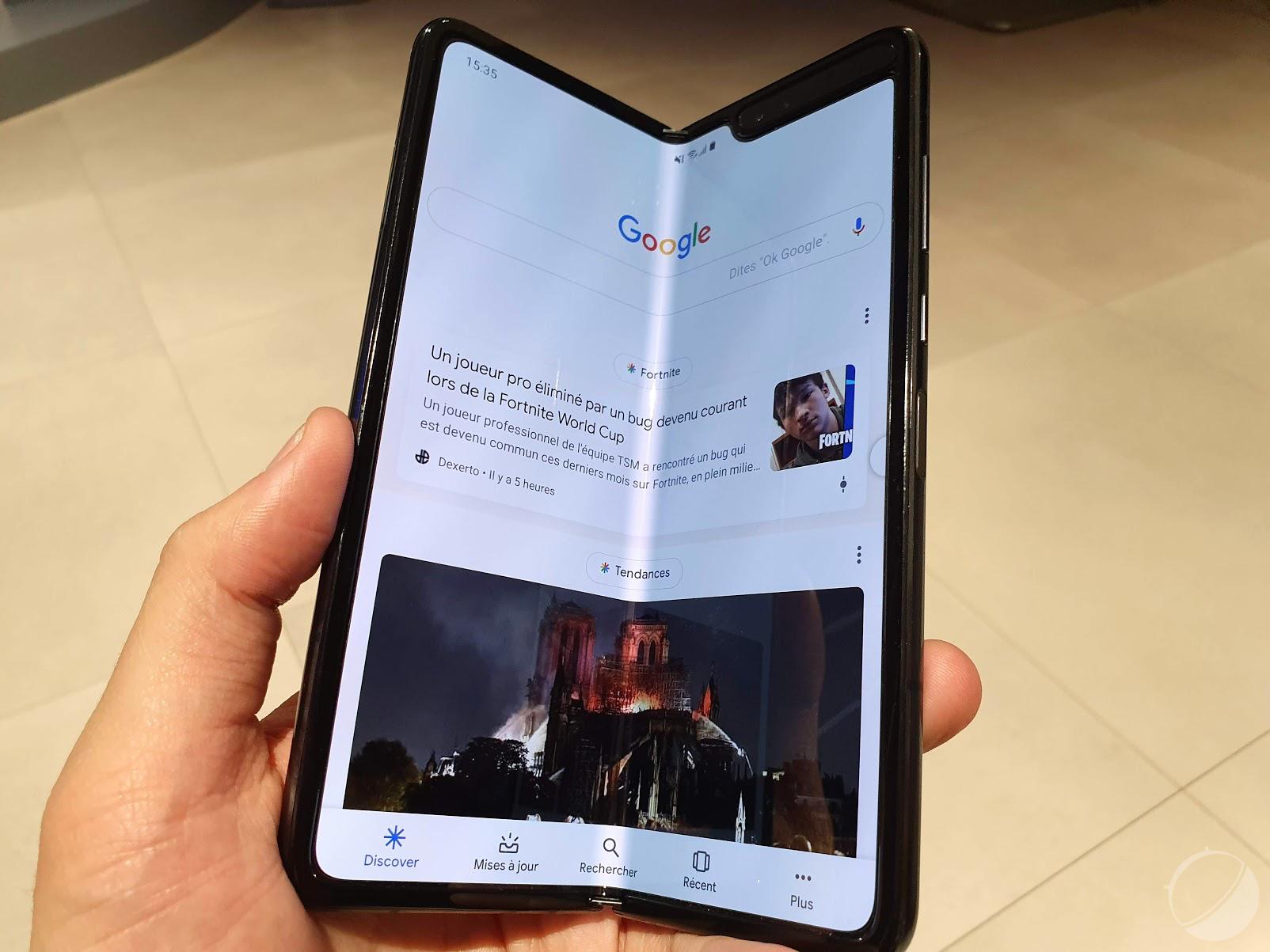 Le Samsung Galaxy Fold 2 pourrait avoir un S Pen et un écran plus grand